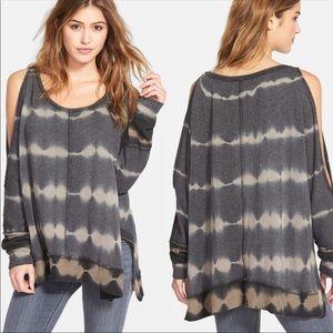 Free people Dandyline cold shoulder pullover